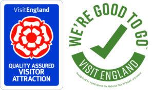 Visit England & Good to Go logo